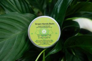 green hands balm
